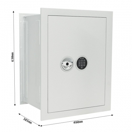 Seif certificat antiefractie incastrabil in perete Stone SE 65 inchidere electronica [3]