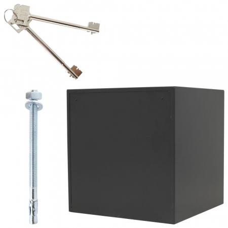 Seif certificat antiefractie antifoc Fire Profi 50 inchidere cheie [5]
