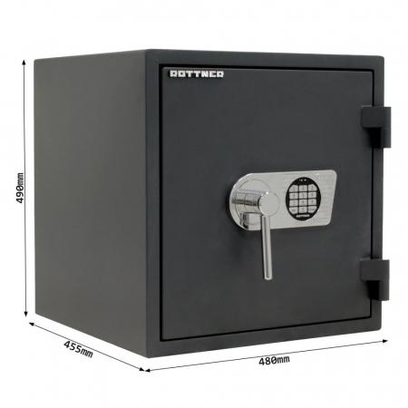 Seif certificat antiefractie antifoc Fire Profi 50 inchidere electronica [4]