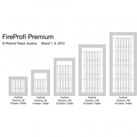 Seif certificat antiefractie antifoc Fire Profi 65 inchidere cheie [7]