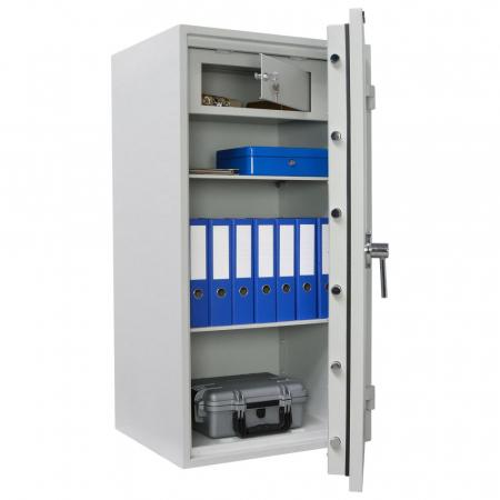 Seif certificat antiefractie antifoc Opal Fire Premium OPD 120 inchidere electronica [2]