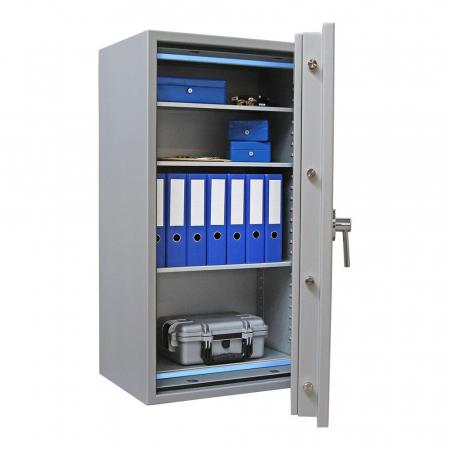 Seif certificat antiefractie antifoc Super Paper Premium 120 inchidere electronica [2]