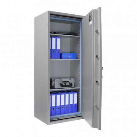 Seif certificat antiefractie antifoc Super Paper Premium 160 inchidere electronica [2]