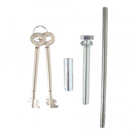 Seif certificat antiefractie antifoc Super Paper Premium 80 inchidere cheie [5]