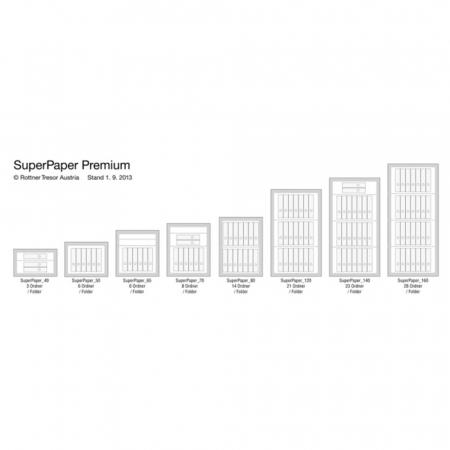 Seif certificat antiefractie antifoc Super Paper Premium 80 inchidere cheie [7]