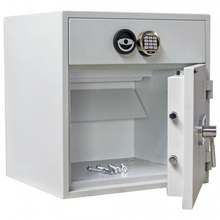 Seif certificat antiefractie cu sertar de alimentare RSR 1/67 inchidere electronica [1]
