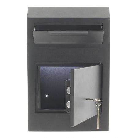 Seif pentru depuneri Cashmatic Basic inchidere cheie [1]