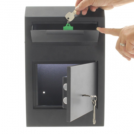 Seif pentru depuneri Cashmatic Basic inchidere cheie [2]