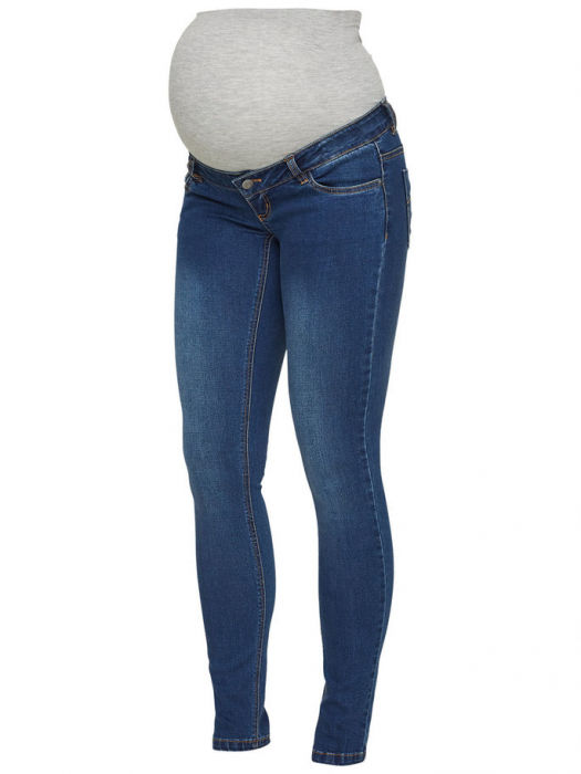 Blugi pentru gravide Mamalicious Lola Slim 4