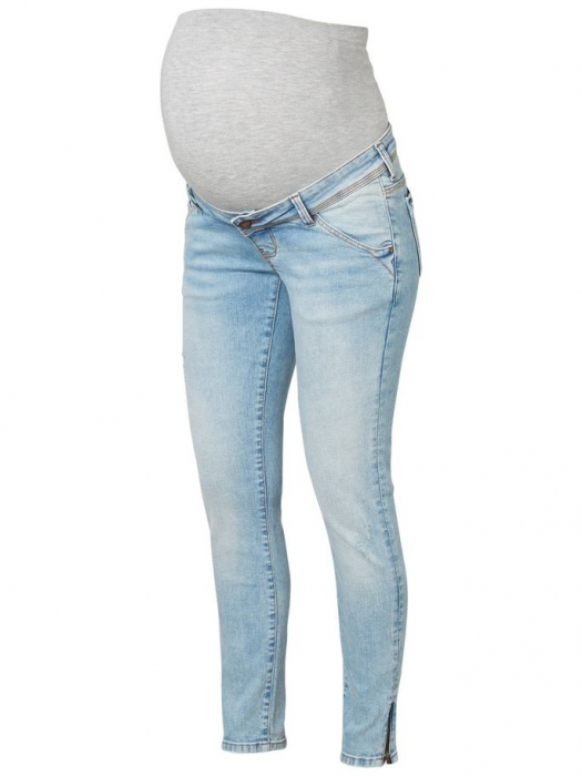Blugi slim gravide lungime pana la glezne Mamalicious Aruba 5