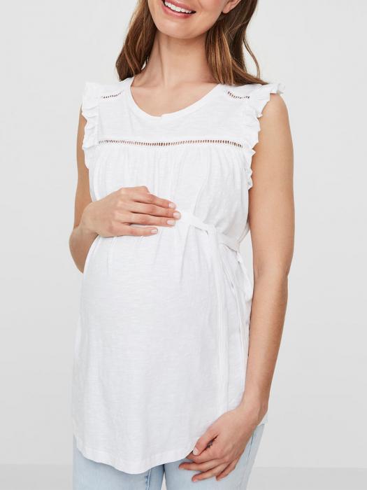Bluză pentru gravide din bumbac Mamalicious Iman 1