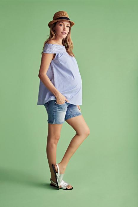 Bluză pentru gravide Mamalicious Bleeck 0