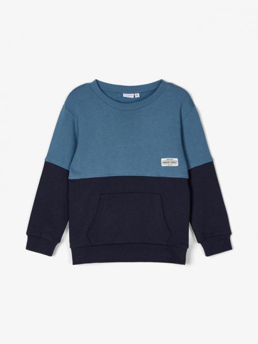 bluza-copii-bumbac-organic-baieti-name-it-valdor-sapphire 1