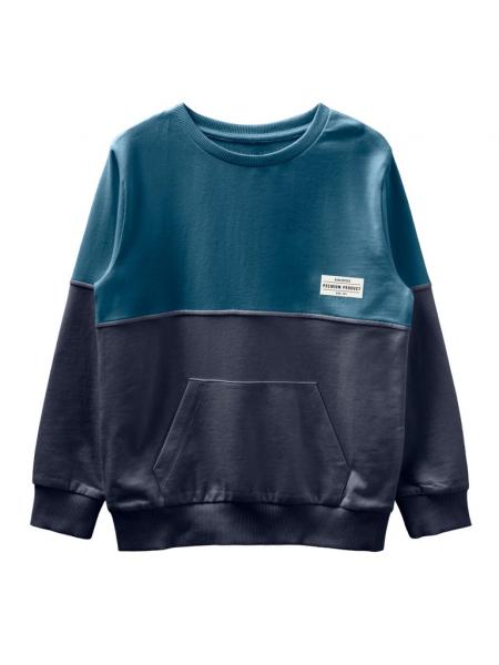bluza-copii-bumbac-organic-baieti-name-it-valdor-sapphire 0