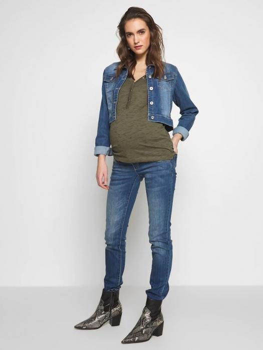 Bluza gravide si alaptare din bumbac organic Mamalicious Anthea 1