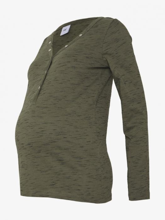 Bluza gravide si alaptare din bumbac organic Mamalicious Anthea 4