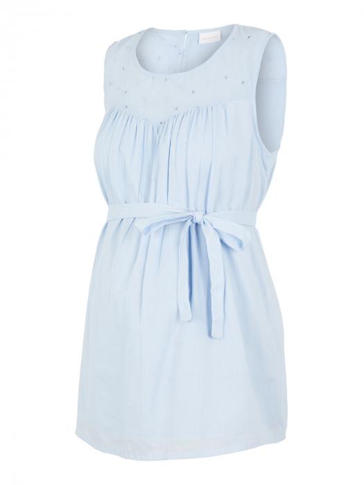 Bluza pentru gravide din bumbac organic Mamalicious Malina 5