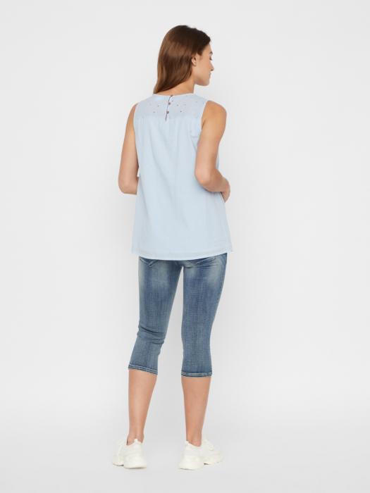 Bluza pentru gravide din bumbac organic Mamalicious Malina 3
