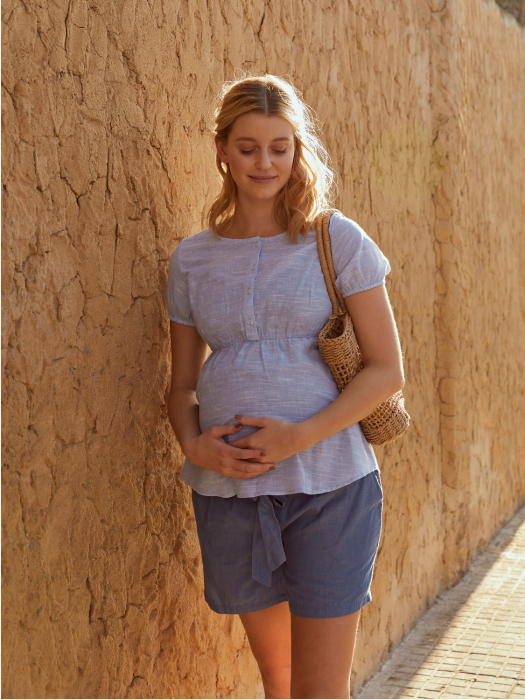 bluza-pentru-gravide-si-alaptare-din-bumbac-mamalicious-ollie 0