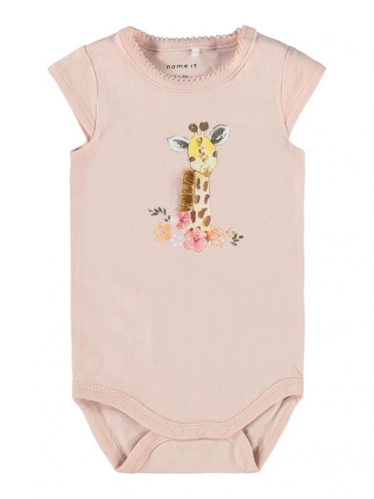 body-bebe-bumbac-organic-fete-name-it-jeanet-peach [0]