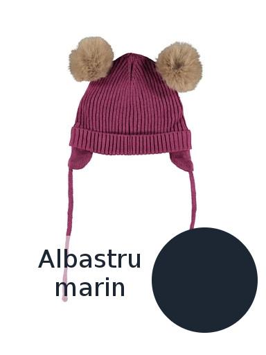 Caciula bebe, bumbac tricotat, baieti - Name It Mara [0]