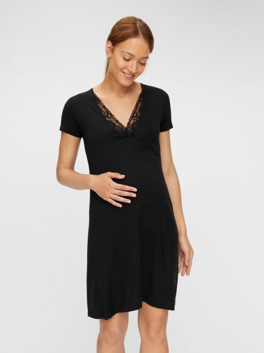 camasa-noapte-gravide-si-altaptare-cu-dantela-mamalicious-kylie 0