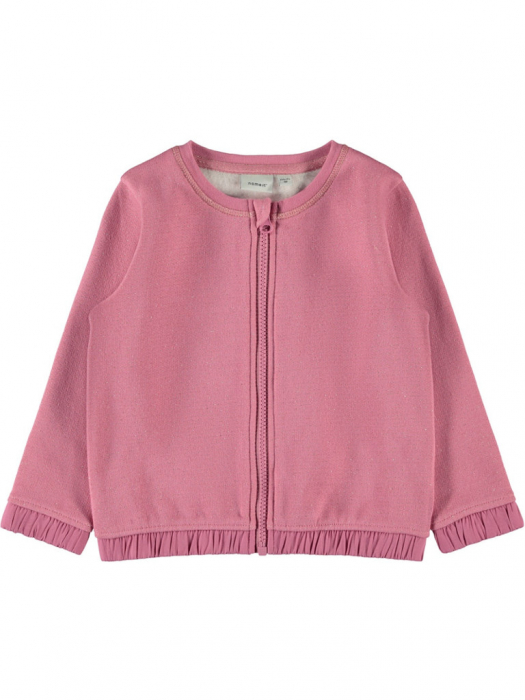 cardigan-fetite-din-bumbac-name-it-nalisa-roz 0