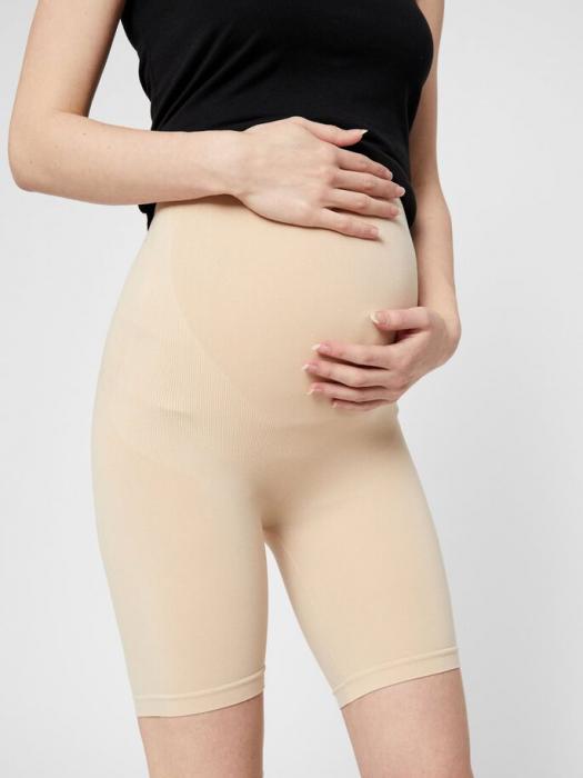 Chilot tip pantalon pentru gravide Mamalicious Tia crem 0