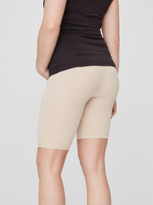 Chilot tip pantalon pentru gravide Mamalicious Tia crem 2