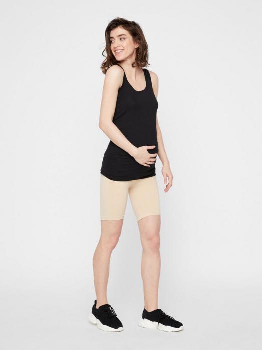 Chilot tip pantalon pentru gravide Mamalicious Tia crem 3