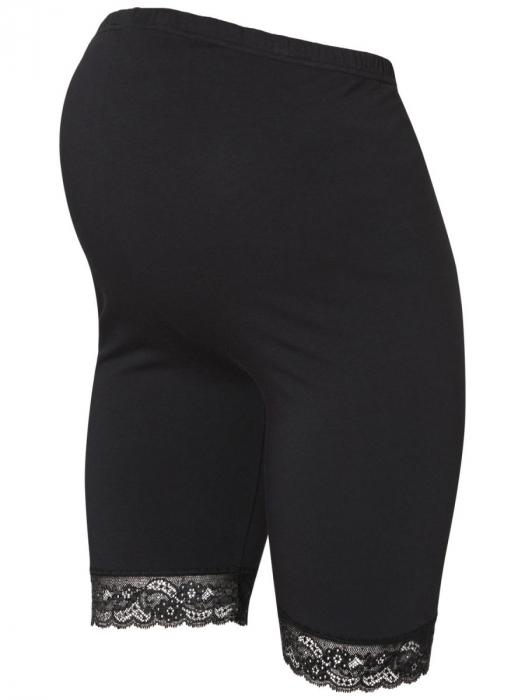 Colanti tip pantaloni scurti pentru gravide Mamalicious Lenn - set 2 bucati 1