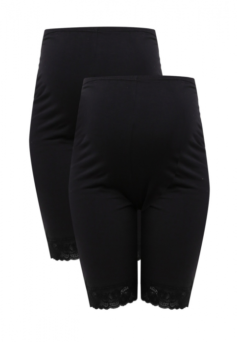 Colanti tip pantaloni scurti pentru gravide Mamalicious Lenn - set 2 bucati 5