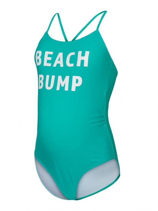 Costum baie gravide cu imprimeu Mamalicious Beach Bump 5