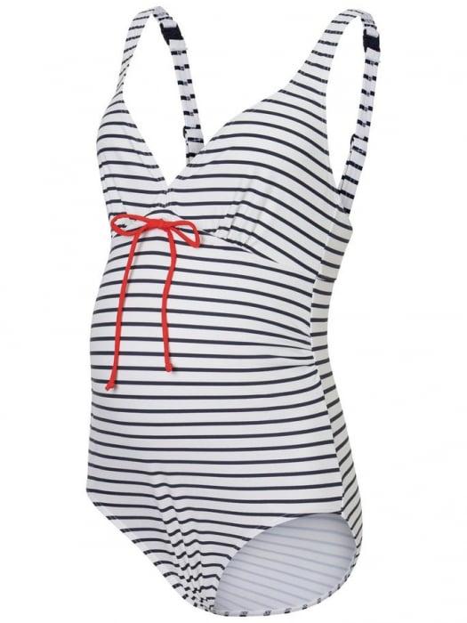 Costum de baie pentru gravide Josefine Stripy 4