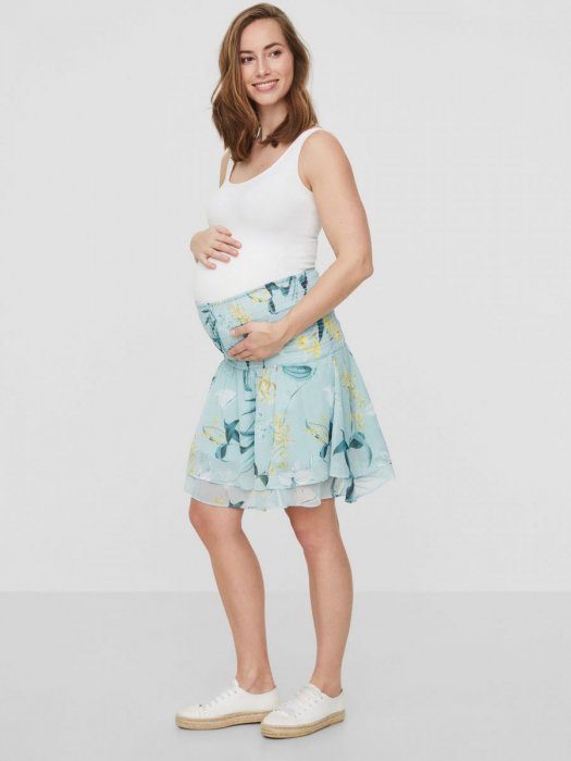 Fustă pentru gravide Mamalicious Lemonade 0
