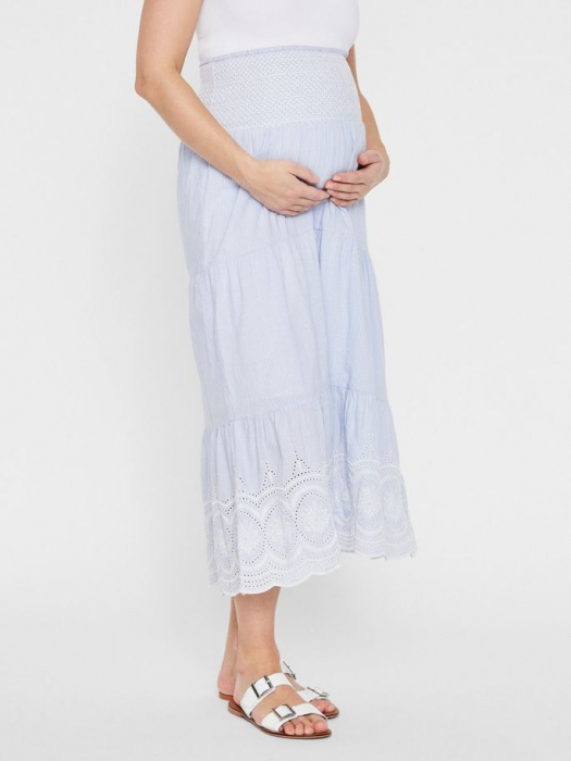 Fusta lunga pentru gravide Mamalicious Leila 1