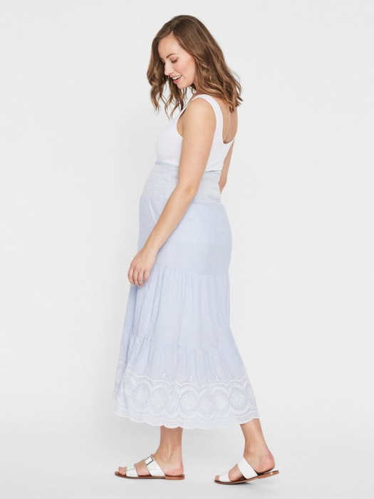 Fusta lunga pentru gravide Mamalicious Leila 2