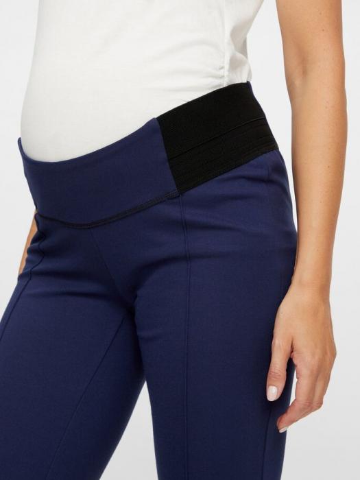 Leggings gravide cu insertii elastice laterale - Mamalicious Reyna 3
