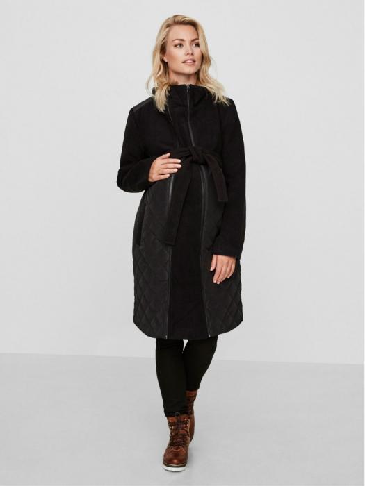 Palton pentru gravide cu panou detașabil Tikka 2 în 1 0