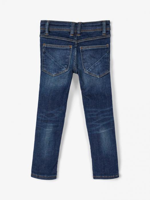 pantaloni-blugi-bumbac-organic-baieti-name-it-theo 1