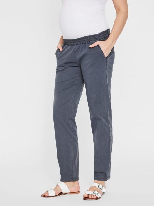 Pantaloni chino pentru gravide Mamalicious Playa 2