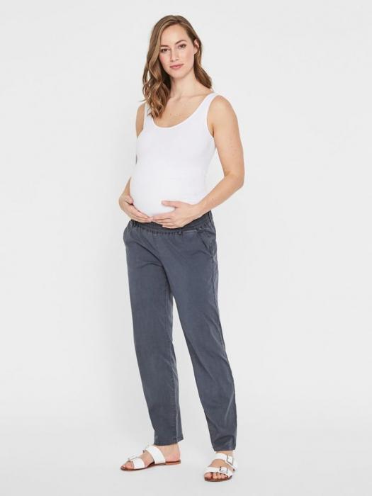 Pantaloni chino pentru gravide Mamalicious Playa 0