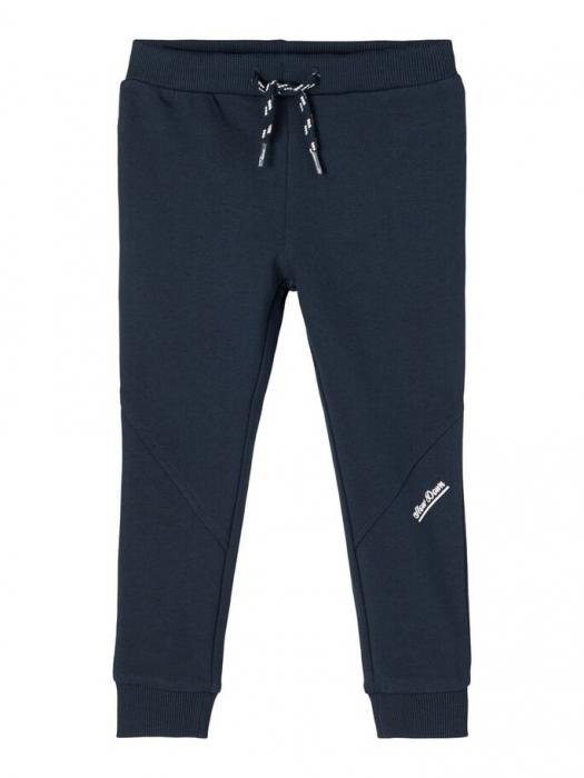 pantaloni-copii-bumbac-organic-baieti-name-it-borge-navy 4