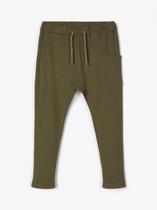 pantaloni-copii-bumbac-organic-baieti-name-it-thors-ivy 0