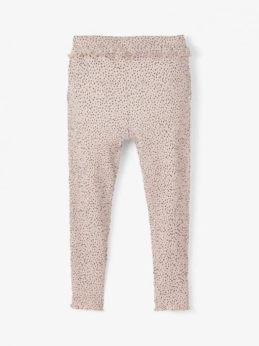 pantaloni-copii-bumbac-organic-fete-name-it-thurid-rose 0