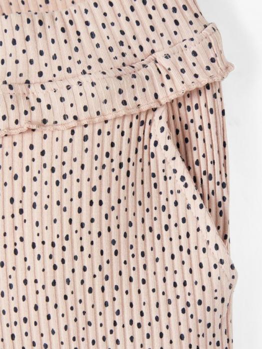 pantaloni-copii-bumbac-organic-fete-name-it-thurid-rose 1