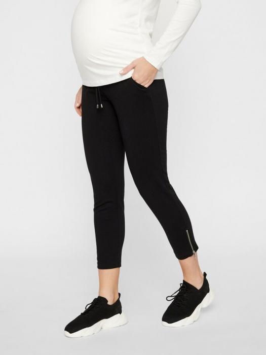 pantaloni-gravide-cu-lungimea-deasupra-gleznei-mamalicious-kathrina 0