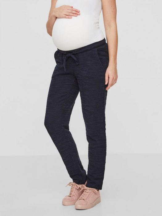 Pantaloni gravide Mamalicious Delaila navy 0