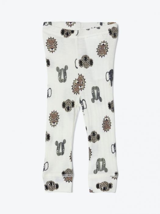 Pantaloni nou-nascuti, lana Merinos - Name It Longjohn [1]