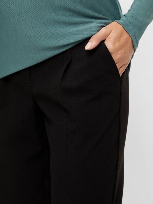 pantaloni-office-gravide-mamalicious-cerise 3